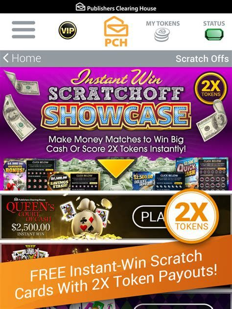INSTANT WIN SCRATCH OFF CARDS I am RRojas now officially claiming my