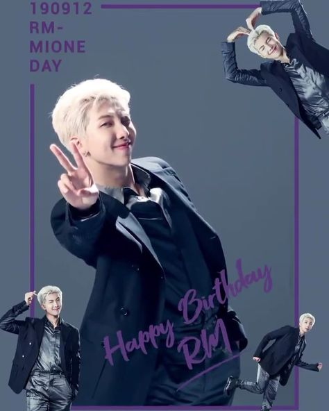 0912 HAPPY BIRTHDAY RM-MIONE (a.k.a 아레미온느). 🖤