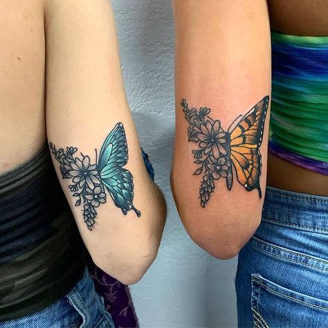 If you and your best friend are looking for the perfect way to honor your friendship it s time to consider getting a matching tattoo Ahead we rounded up the cutest prettiest tattoo ideas that are perfect for best friends Dope Tattoos, Pretty Tattoos, Beautiful Tattoos, Body Art Tattoos, Small Tattoos, Tatoos, Wrist Tattoos, Styles Of Tattoos, Flower Tattoos