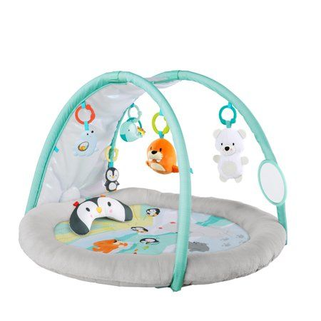 Baby Light Up Play Gym In Arctic Glow Walmart Com Bright Starts