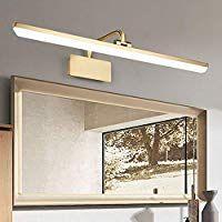 Topdeng Bad Spiegelleuchte Led Wandleuchte Spiegel Einfach Make