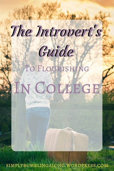 The Introvert's Guide to Flourishing in College