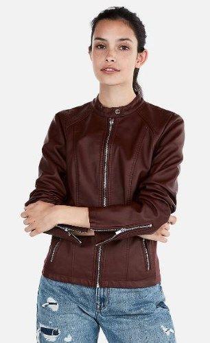 10 Good Looking Brown Vegan Leather Jacket Options Men Women 2020 Vegan Leather Jacket Women Leather Jackets Women Vegan Leather Jacket