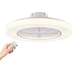 Deckenventilator Mit Lampe Led Dimmbar Mit Fernbedienung