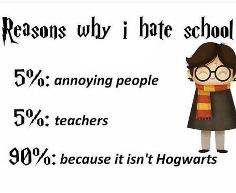 It ain't Hogwarts