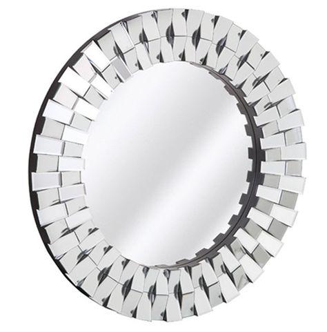 Majestic Mirrors Round Beveled Mirror Edge Mirror Mirror Panels