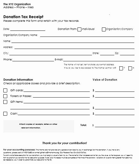 Printable Donation Form Template Beautiful Donation Receipt Template 12 Free Samples In Word And Excel Letter Template Word Receipt Template Letter Templates