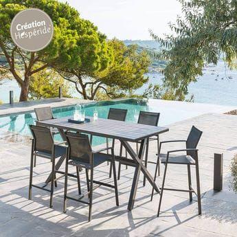 Axiome : Salon de Jardin, Table, Fauteuil