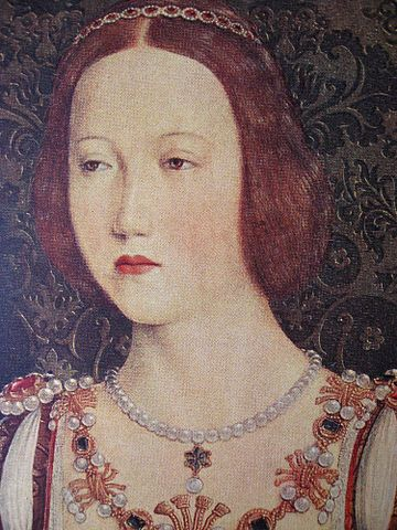 : 25 June 1533: The Death of Mary Tudor at the age of 37, the younger sister of King Henry VIII and queen consort of France through her marriage to Louis XII. She was first buried at the abbey at Bury St Edmunds in Suffolk, but later her body was moved to nearby St Mary's Church, when the abbey was destroyed during the Dissolution of the Monasteries