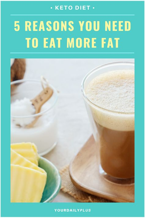 As crazy as it sounds, it's actually the sugar which is the real culprit and not the fats.