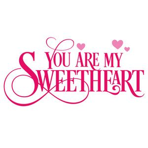 Silhouette Design Store: you are my sweetheart