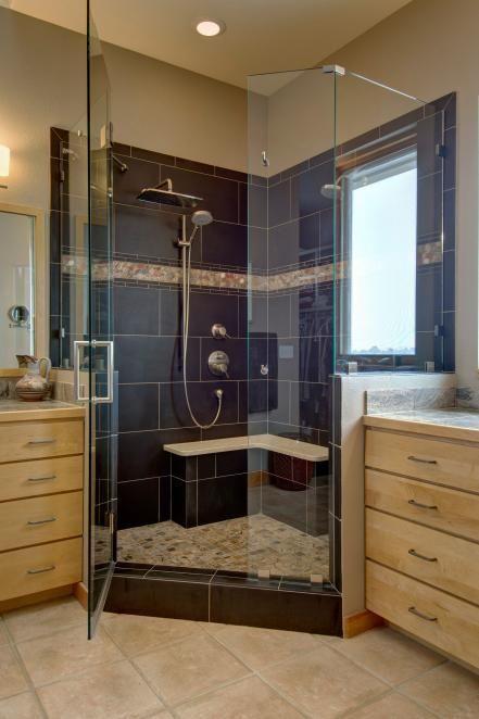 Elegant Walk In Showers Design Ideas For Small Bathrooms