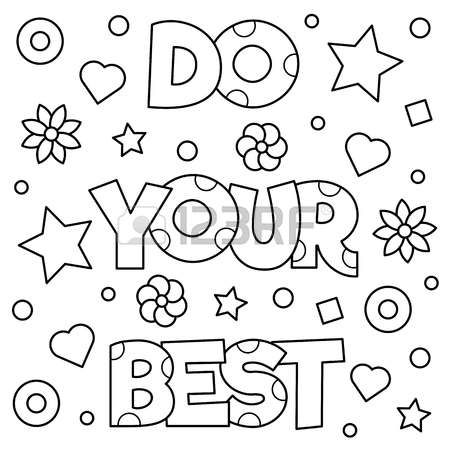 Stock Vector Easy Coloring Pages Coloring Pages Cute Coloring