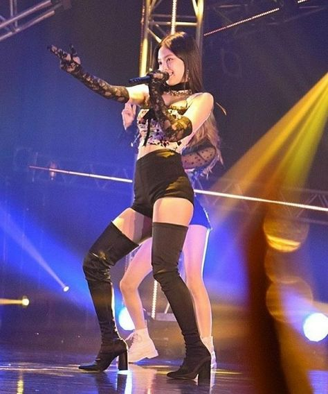 Uploaded by kay. Find images and videos about kpop, blue and blackpink on We Heart It - the app to get lost in what you love. Blackpink Fashion, Teen Fashion Outfits, Stage Outfits, Kpop Outfits, Kim Jennie, Blackpink Photos, Girl Photos, Pink Movies, Korean Girl Photo
