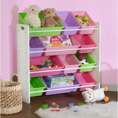 Zoomie Kids Cassiopeia Sort And Store Toy Organizer In 2020 Toy