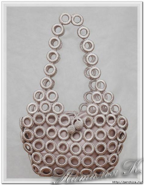 Crochet for you Crochet Mandala Pattern, Crochet Patterns, Crochet Accessories, Bag Accessories, Crochet Rings, Bag Illustration, Crochet Market Bag, Diy Bags Purses, Crochet Handbags
