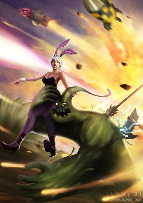 Battle Bunny Riven Zac