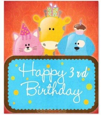 Auguri Di Buon Compleanno Per Bambini Di 3 Anni Nel 2020 Auguri Di Buon Compleanno Buon Compleanno Frasi Buon Compleanno