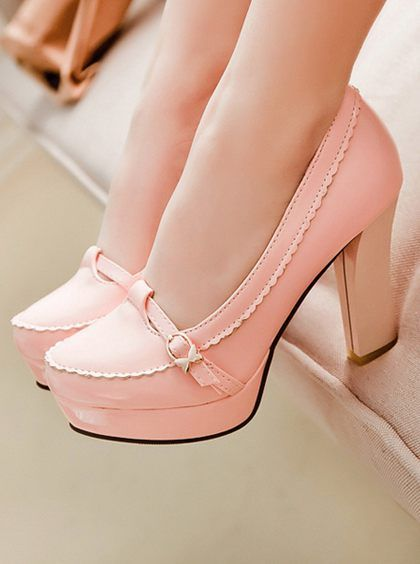 Adorable heels, can my daughter wear these to the prom...please ...