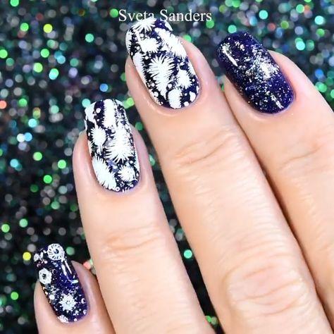 Beautiful nail   By: @sveta_sanders