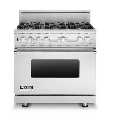 Viking 5 Series VGIC53626BARLP | 36 inch gas range, Cool
