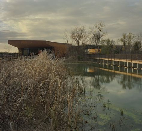 Trinity River Audubon Centre Dallas Texas By Antoine Predock And Brw Architects Archute