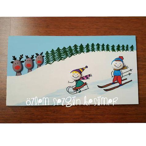 paintingrocks Karda eğlence. #tasboyama...