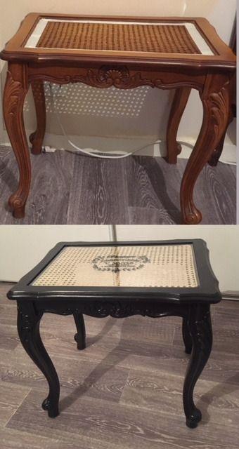 Ma Table Basse Cannee Table Basse Relooker Une Table Basse Relooking De Mobilier