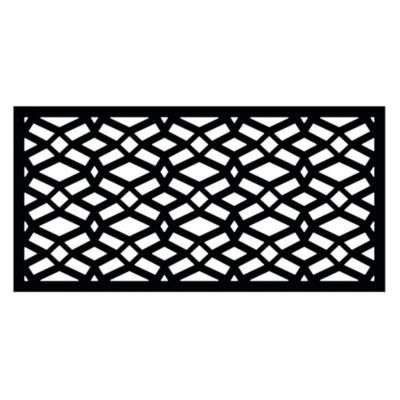 Find Freedom Decorative Screen Panel 2 Ft X 4 Ft Celtic Black 73004781 In The Outdoor Wall Art Ca Decorative Screen Panels Decorative Screens Fence Panels