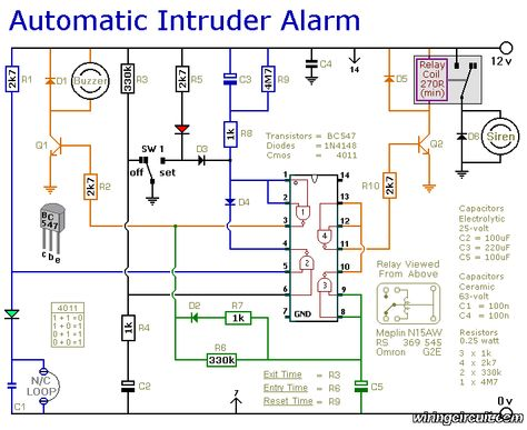 schematic diagram alarm systems for home, home security alarm pir sensor wiring diagram security alarm wiring diagram