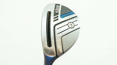 Adams Idea 2014 Degree 3 Hybrid Regular Flex Bassara Golf Clubs Flex Golf