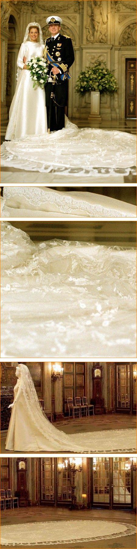 Máxima ~ wedding dress by Valentino