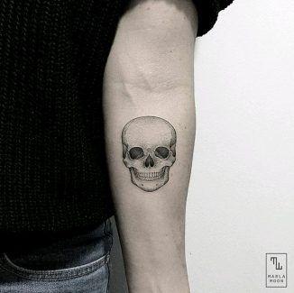 Tatuajes De Calaveras Pequenas 3 Tatuaje De Calavera Pequeno Calaveras Tatuajes Craneos Y Calaveras