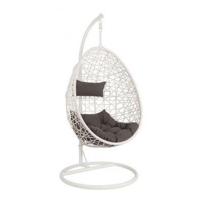 Hangstoel Egg Wit.Pin On Droom Kamer