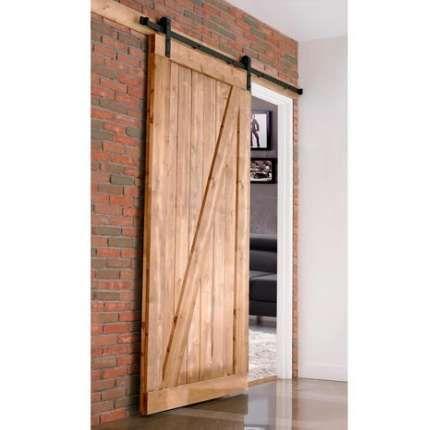 Sliding Barn Door For Bedroom Closet Room Dividers 59 Ideas Wood Doors Interior Barn Door Installation Sliding Door Design