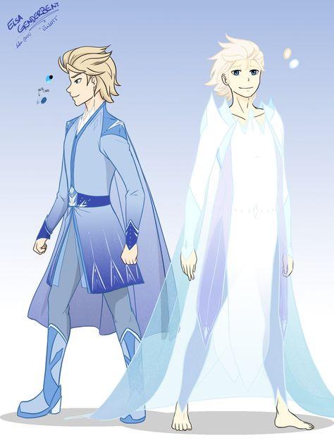 Elsa Genderbend (Frozen 2)