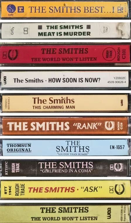 Interests I love The Smiths Who are a British band from the 70s who have some great songs. I would have to say they're my favourite band Like and Repin. Thx Noelito Flow. http://www.instagram.com/noelitoflow