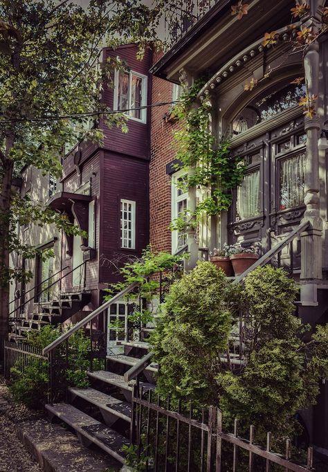 Maisons du Plateau-Mont-Royal, Montréal | © Caroline Bergeron