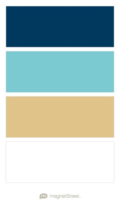 Navy Turquoise Matte Gold And White Wedding Color Palette Custom Color Palette Created At Ma Gold Wedding Colors Wedding Color Palette Blue Colour Palette