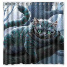 Bathroom Products The Cheshire Cat Of Alice In Wonderland Printed Waterproof Polyest Alice In Wonderland Print Alice In Wonderland Alice In Wonderland Birthday