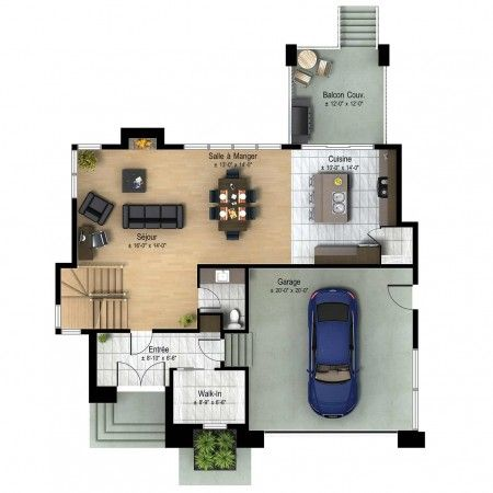 Plan De Maison House Plans Small House Plans Modern House Design