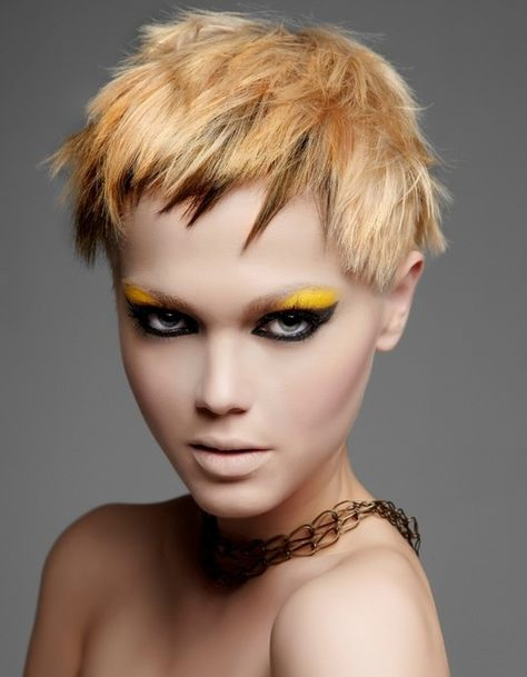 Punk Girl Hair Color Ideas 2012 - Perk up your look by embracing some of these Punk hair color ideas. Turn yourself into a real style chameleon with these cutting edge hair designs.