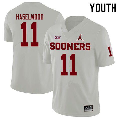 oklahoma sooners youth football jersey