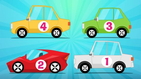 Learn Counting With Cars In Arabic For Kids 1 10 الأرقام تعلم عد السيارات للاطفال من ١ إلى ١٠ Learn Arabic Online Learning Numbers Learning Arabic