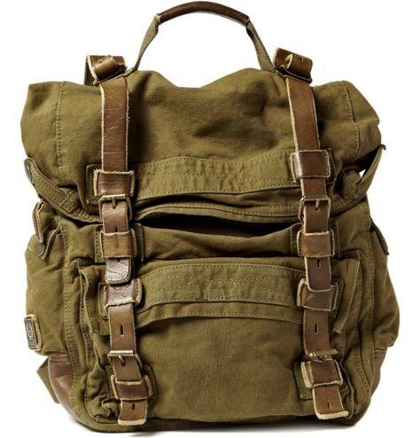 Belstaff Double-Sized Backpack