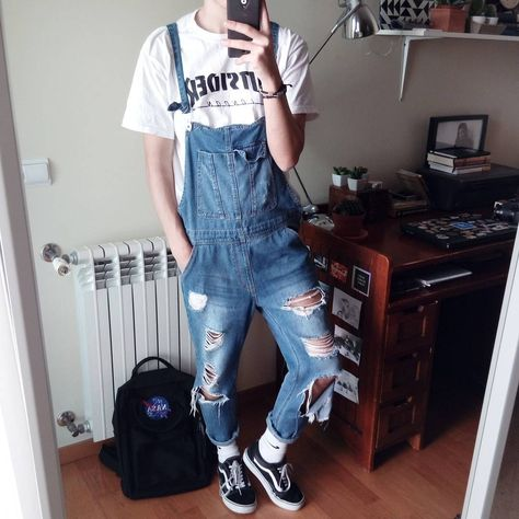 """5,943 Likes, 43 Comments - Francisco Pedro (@blvckcreature) on Instagram: """"I wear my overalls a little bit too much, but wtv today was such a warm day, 26 degrees, it feels…"""""""