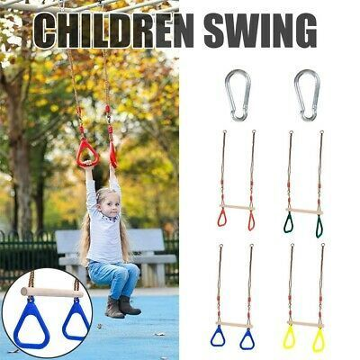 Kids Swing Seat Adjustable Ropes Heavy Duty Rope Play Kids Swing Swing Sets For Kids Swing Seat