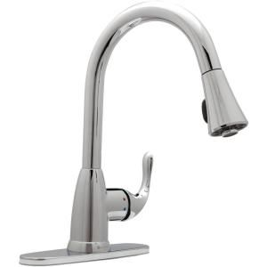 Delta Leland Single Handle Pull Down Sprayer Kitchen Faucet With Shieldspray In Venetian Bronze 19978z Rb Dst The Home Depot V 2020 G