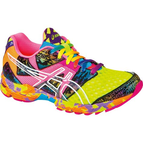 318d65e49267 The Asics Gel Noosa Tri 8 Running Shoes for women are the most fun and  colourful sneaker I've ever seen!