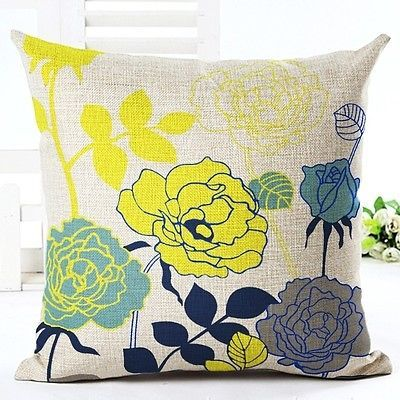 Pillow Case Sofa Waist Throw